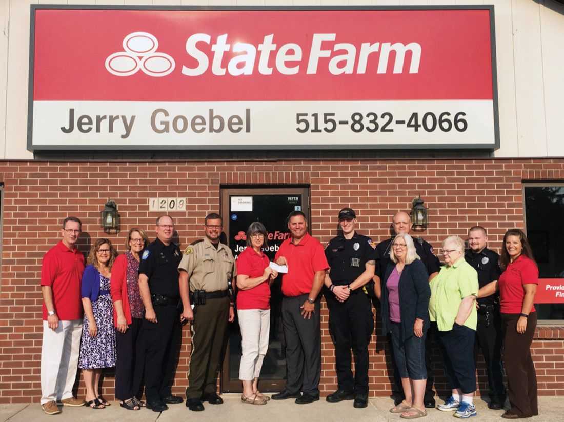 Crime Stoppers receives sponsorship donation